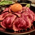 78269391 - ローストビーフ丼