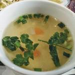 プアンタイ - ランチセットのスープ