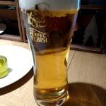 マッシュルームトーキョー - 生ビール