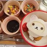 OMOTESANDO BOX CAFE&SPACE - コリラックマキャットのころころドーナッツ~自分で作れるトッピング付き~