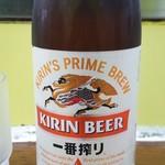 78274260 - まこと家 瓶ビール