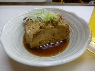 一平 - 肉豆腐、肉は豆腐の下に