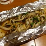 GOCHISO-DINING 雅じゃぽ - 2017.12 旬の白身魚と木の子の包み焼き 柚子の香り