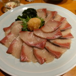 GOCHISO-DINING 雅じゃぽ - 2017.12 朝〆旬魚の寒鰤と肉厚若布のしゃぶしゃぶ