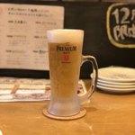 肉エル - 生ビール