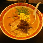 豚松 - 豚松ラーメン730円