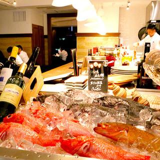 新鮮な海の幸を毎日豊洲市場より仕入れお届けしています!