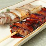 国産焼き鳥 とんちき - 豚バラ串