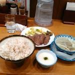 78277978 - 牛たん炭火焼き定食with山芋とろろ