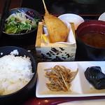 Awajishimatokurae - 煮込みハンバーグ定食¥1100