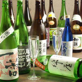 豊富な日本酒・焼酎&心に残る嬉しいサプライズ!