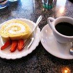 ミルクホール - ケーキセット1200円