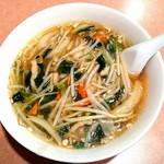 龍門 - 税抜500円ランチのサンマー麺