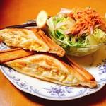 イシハラ - 料理写真:ホットサンドセット(850円)