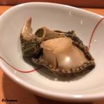 鮨富 - 料理写真:常節(トコブシ)