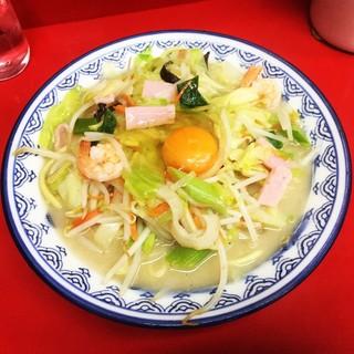 香蘭 - 料理写真:卵入りちゃんぽん