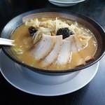 幸楽苑 - 味噌野菜らーめん+チャーシュー