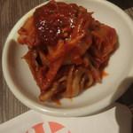 焼肉レストラン ひがしやま - 辛味