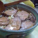 玉蘭 - チャーシューメン。玉蘭のチャーシューはしっかりと味が染みていて、それだけでも美味しい逸品です。