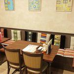 タシデレ - 《おひとり様大歓迎》『タシデレ』ではおひとり様も多くいらっしゃいます♪ランチはもちろんのことディナーでもお気軽にお越しください☆本格リベット料理を楽しむなら『タシデレ』へ♪
