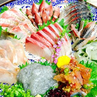 旬の鮮魚お刺身盛合せ!