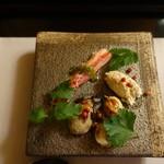 78301269 - 鶏                       蟹                       ホタテ                       牡蠣