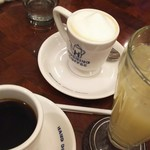 Hoshinokohiten - ラテ、グレープジュース