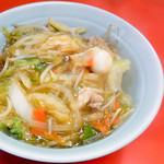 東東亭 - 中華丼
