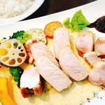 ビストロ felice - 料理写真:白金豚のゴルゴンゾーラ1750円