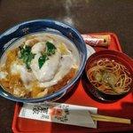 東家  本店 - 特製カツ丼(蕎麦・お新香付)