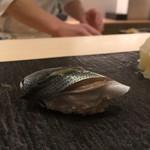鮨 青海 - 小肌 握り