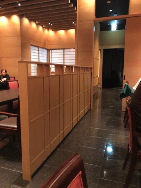 柿安 名古屋店 - 落ち着いた店内