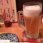 豆 - 1712_豆_豆セット@680円 生ビール