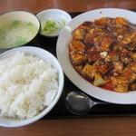 78305394 - 四川麻婆豆腐定食