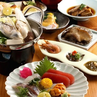 ○おすすめ○【天然魚おまかせ懐石コース】は自慢のコースです◎