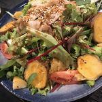 口福家 HANARE - サラダも美味しい♫