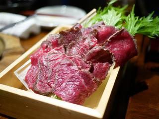 仕事馬 - 特製桜鍋用の馬肉