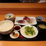 魚菜屋 なかむら - おさしみ定食