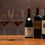フレンチごはん 西麻布 GINA - 高級ワインは高級グラスと共に
