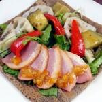 サロン・ド・テ サブリエ - 紅茶鴨と旬の野菜