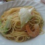 フィエスタ - 白菜とエビのクリームパスタ