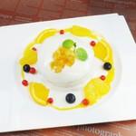 サロン・ド・テ サブリエ - 白いチーズソースと柑橘