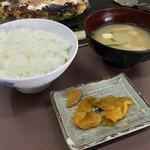 甘辛や - 甘辛や(大阪府大阪市阿倍野区美章園) サービスランチ 豚玉定食