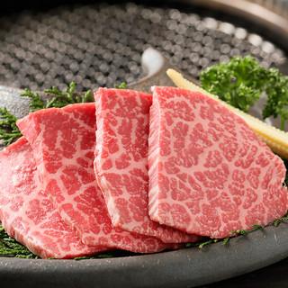 和牛の上質な国産食材を使用