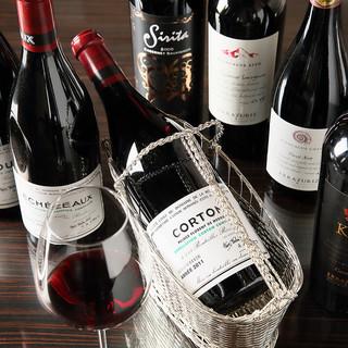 ソムリエ厳選の美味しいワイン