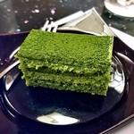 日本料理 雪月花 - コース料理(抹茶ケーキ)