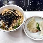 日本料理 雪月花 - コース料理(鮭茶漬け & 漬物)