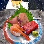日本料理 雪月花 - コース料理(刺身盛り合せ)