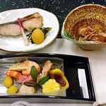 日本料理 雪月花 - 料理写真:コース料理(はじめに並んでいた料理)