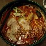 らぁめん銀波露 - 辛らぁ麺塩 880円